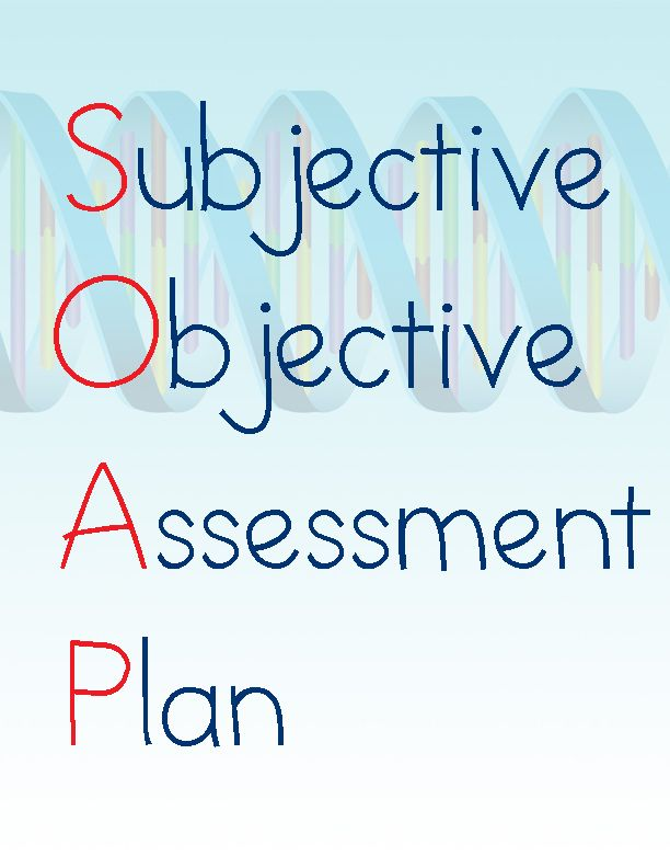 25 best ideas about Soap Note – Subjective Objective Assessment Planning Note