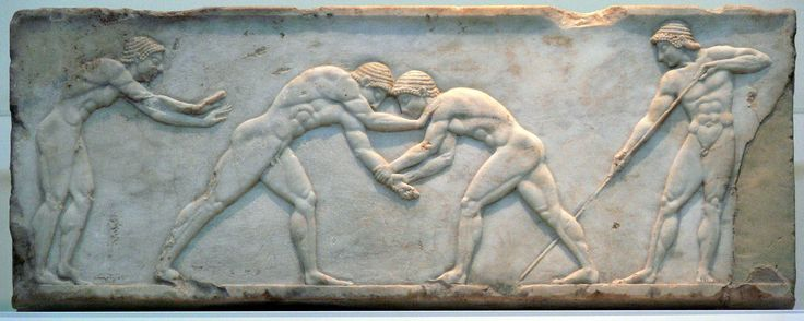 Book XXIII Funeral Games for Patroclus, wrestling.