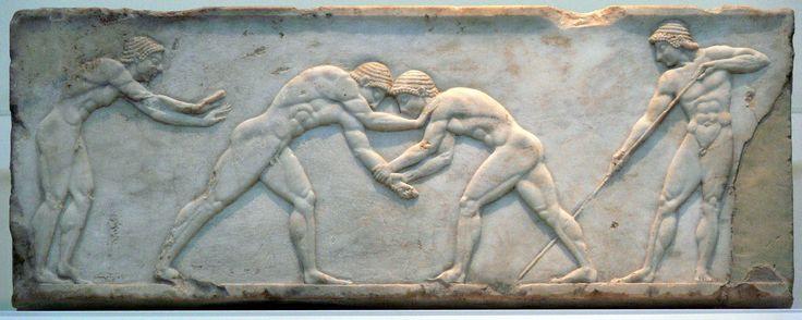 Book XXIII Funeral Games for Patroclus, wrestling.
