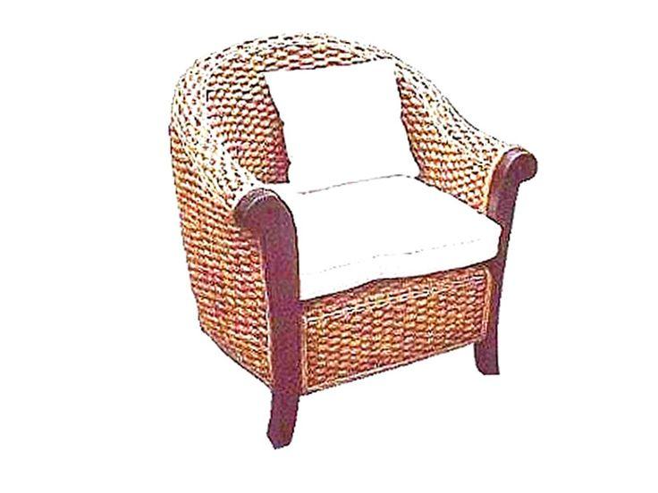 Magdalena Arm Chair #rattanfurniture #rattanfurniturewholesale http://naturalrattan.com