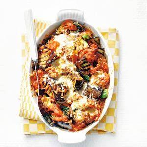 Recept - Aubergine uit de oven - Allerhande