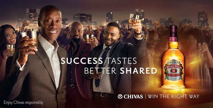 Billboard Chivas Regal || Jan Verboom Photographer || Cape Town South Africa ||