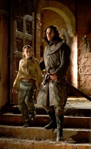 Jory Cassel and Arya Stark, escape from King's Landing