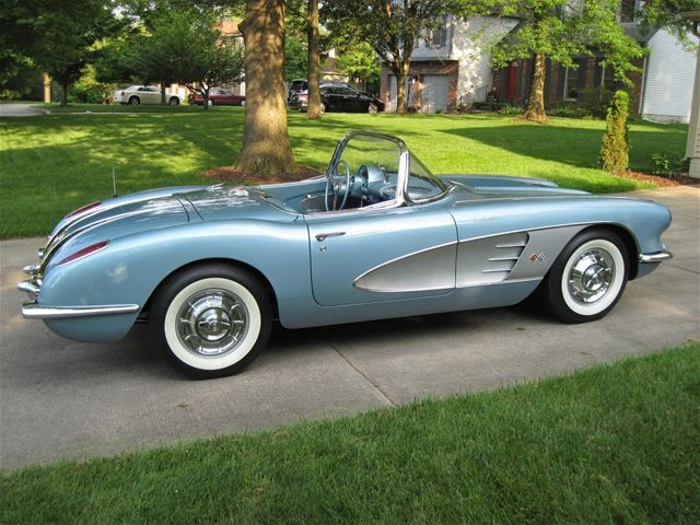 1958 chevrolet corvette for sale corvettes pinterest corvettes. Cars Review. Best American Auto & Cars Review