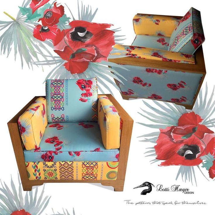 marchitan#lottihaeger#art#architecture #arquitectura #flowers #pattern #colorful #colour #color #textiles #fabric #inredning #chair #design #designer #decoration #decorating #decor #homedecor #homedesign #plants #colombia #sweden