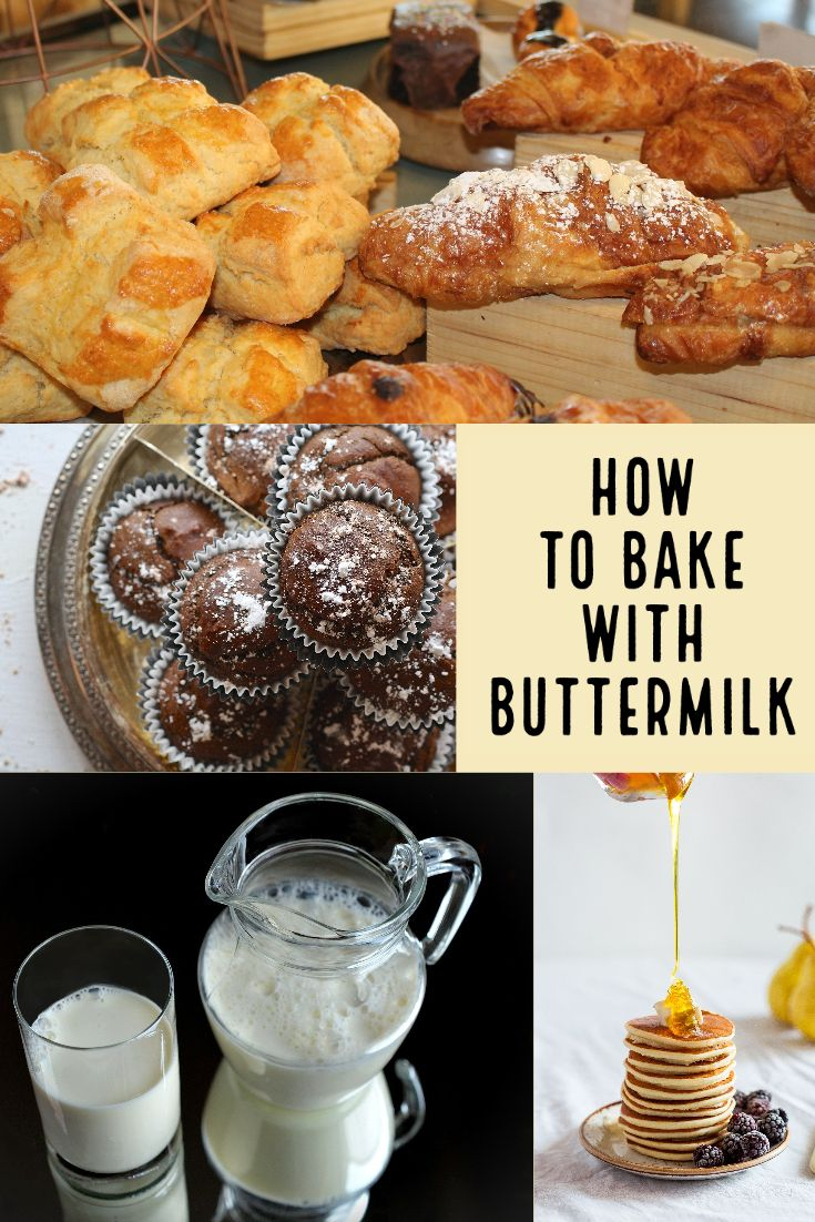 How To Bake With Buttermilk In 2020 Buttermilk Recipes Scones Recipe Easy Easy Banana Nut Muffins