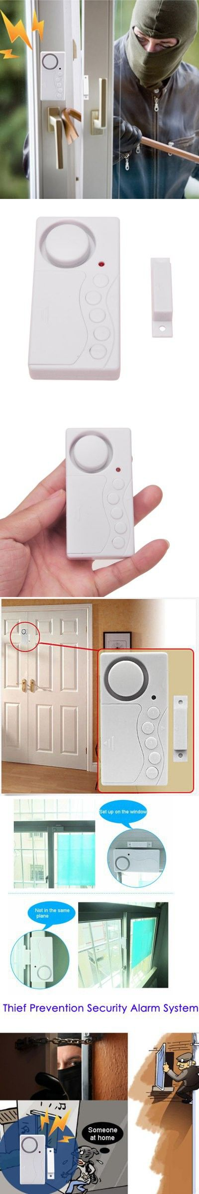Wireless Household Security Alarm System