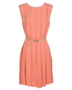 light salmon colored dress by Chloe | Salmon/Peach Dresses ...