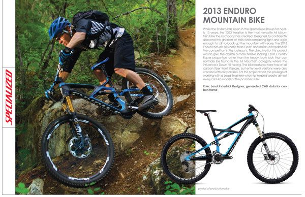 "2013 Specialized Enduro MTB: 26"" & 29"" on Behance"