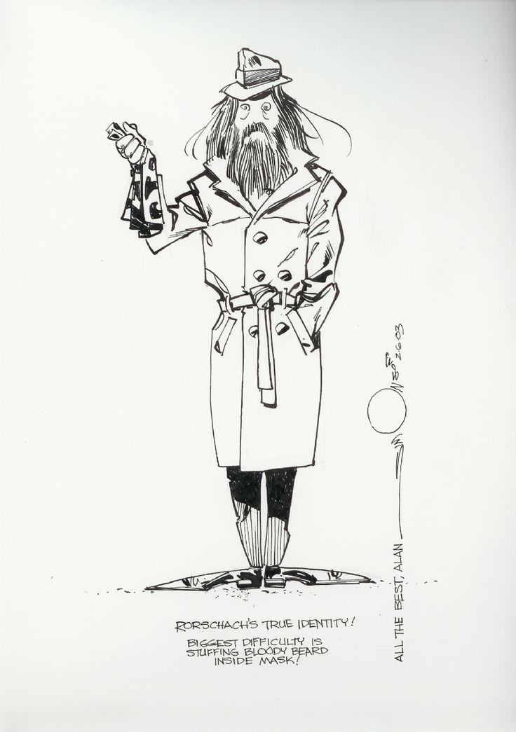 Alan Moore  Comic Art