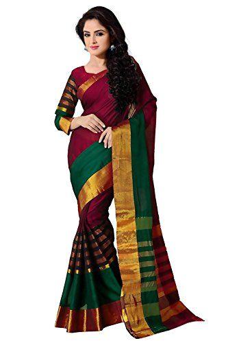 Trendz Women Cotton Silk Saree(TZ_VV_Multi)
