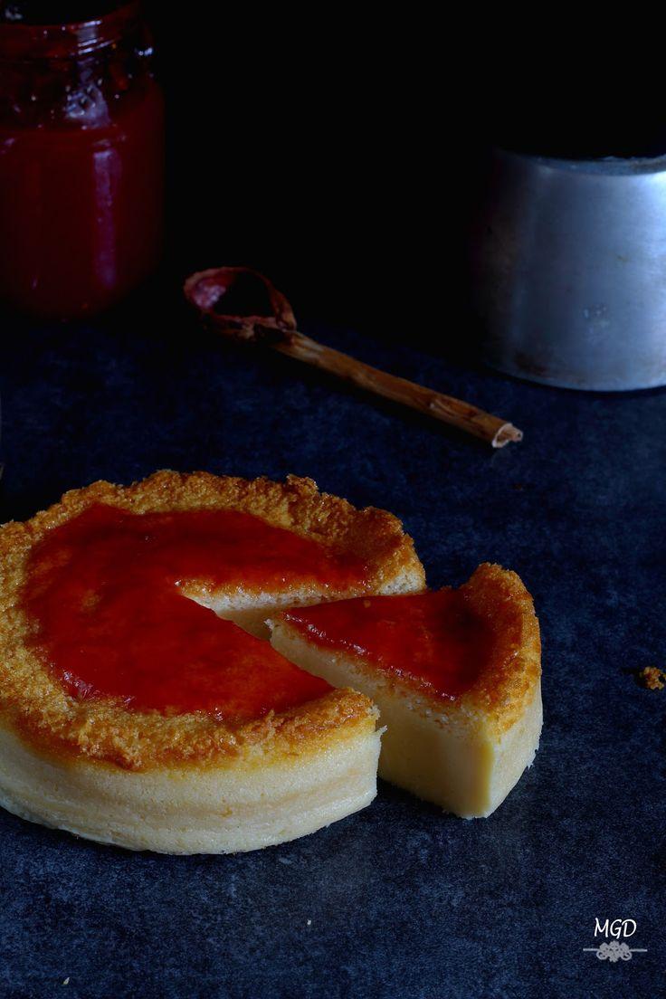 Mi Gran Diversión: Tarta de queso con yogur griego y mermelada de tomate