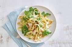 Een romige pasta met een subtiele pittigheid van de gorgonzola. Perfecto! - Recept - Allerhande