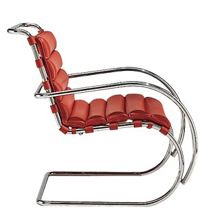Mies van der Rohe Collection, MR Lounge Chair.