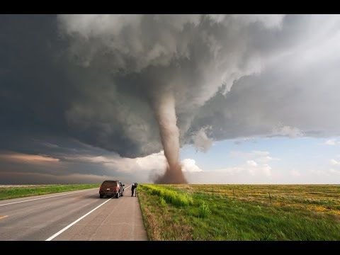 Extreme up-close video of tornado near Wray, CO! - YouTube