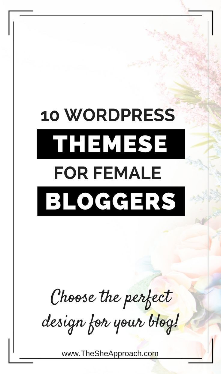Looking for a way to design your blog and make it stand out? Here are 10 worpress themes for bloggers or entrepreneurs that will be a great fit for your website! More blogging tips on how to choose the perfect feminine worpdress theme! Blog design tips an #followback #startup #onlinebusiness #entrepreneur