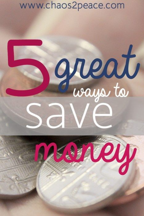 Need some help saving money? How about some practical tips for living on a budget? Chaos2Peace is offering 5 easy tips to save money today.