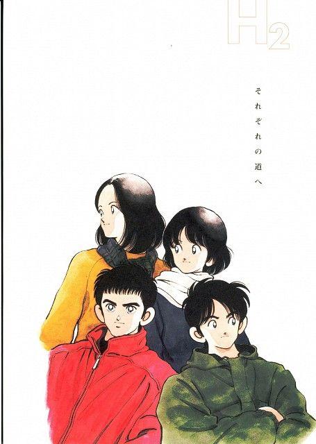 Mitsuru Adachi, H2, Mitsuru Adachi Season's Album, Hikari Amamiya, Haruka Koga