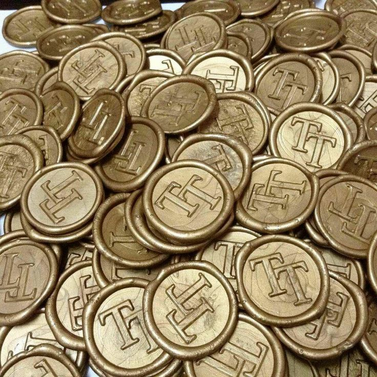 200pcs Self Adhesive Wax Seal Stickers in