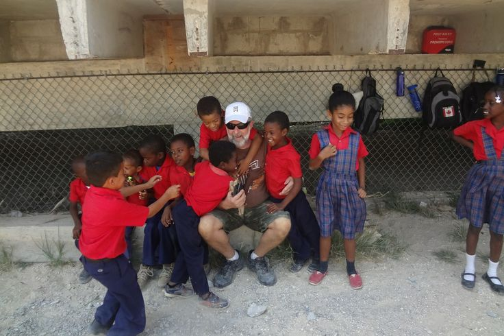 Plenty of smiles, hugs and love to go around from the children in Belize!
