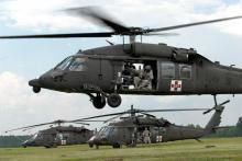 Bell UH-1 Huey Helicopter | Hovering Helicopter