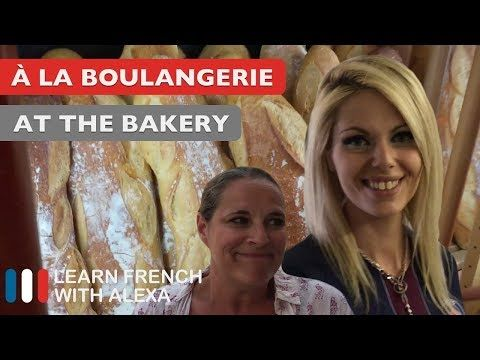 (1714) Alexa visits her local French bakery - YouTube