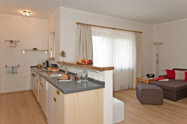 wohnzimmer offene küche - google-suche | küche | pinterest | searching - Moderne Landhauskche Mit Kochinsel