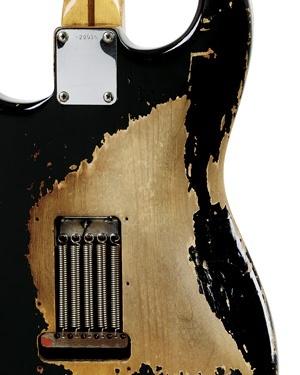 VINTAGE GUITARS / The story behind Clapton's Blackie.