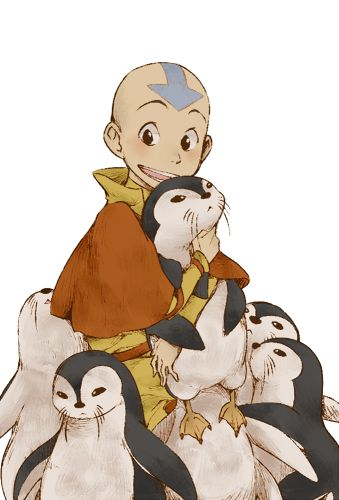 Avatar and penguins - Avatar the last airbender