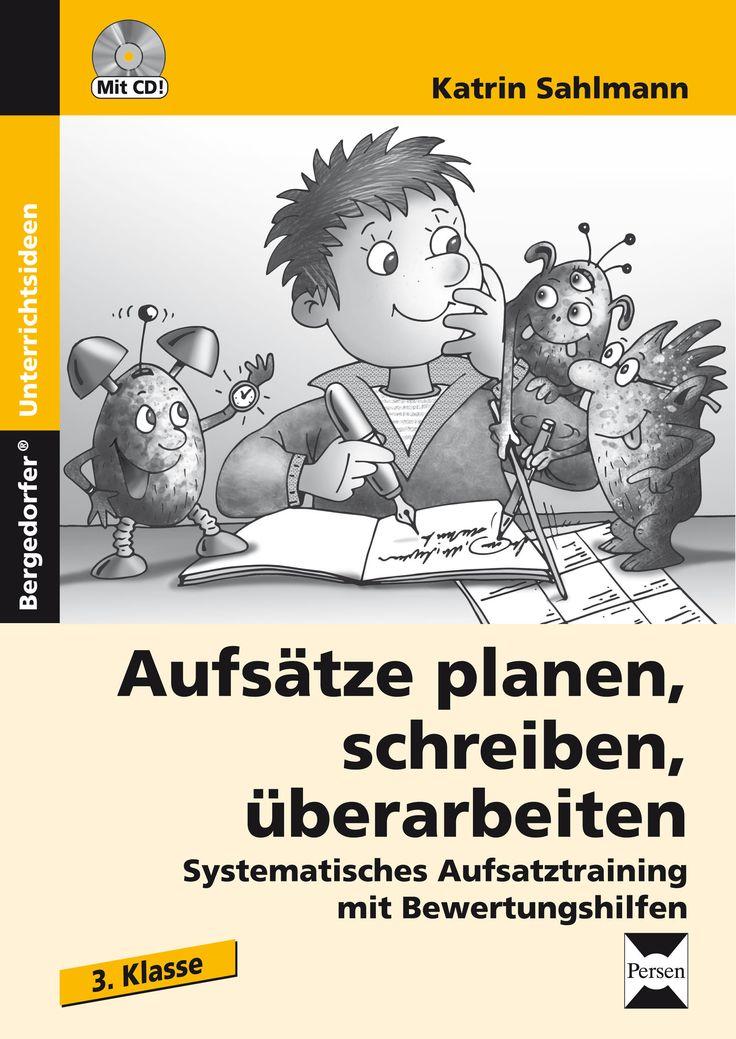 Aufsätze planen, schreiben, überarbeiten - Kl. 3 - Buch