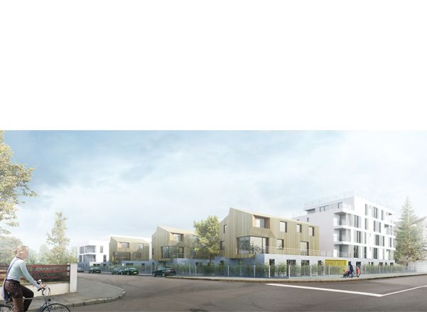 62 logements sociaux - Carrières-Sous-Poissy, France - inSpace Architecture