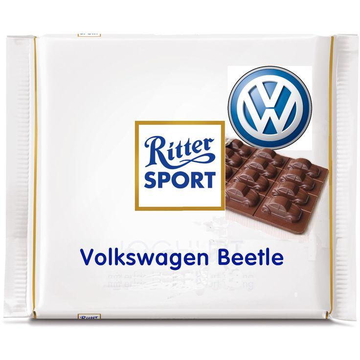 Ritter Sport Fake Sorte  - VW Beetle