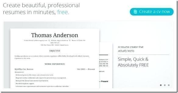 Resume Online Free Lebenslauf Vorlagen Resume Resumeexamples