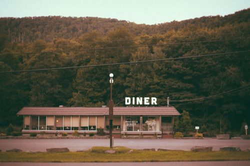 dinerporn: theaeipathy: phoenicia diner // fine art photographic print This is a lovely photo of one of our favorite places. Good work!