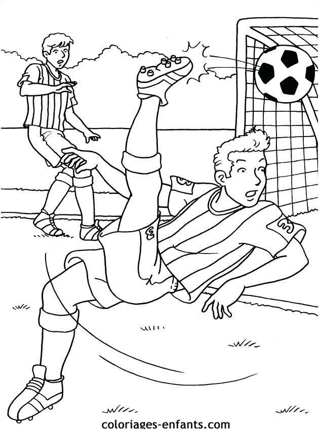 9 Harmonieux Dessin De Sport Images Coloriage Football