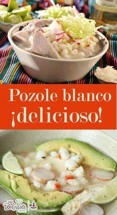 pozole blanco | CocinaDelirante