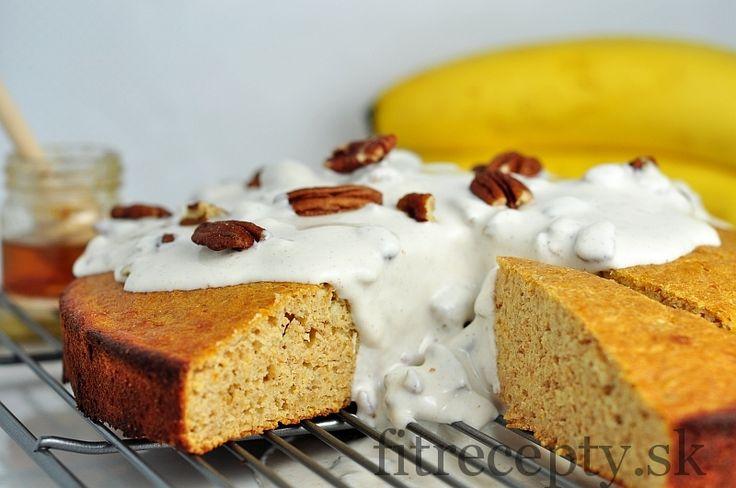 Špaldovo-banánová torta - FitRecepty