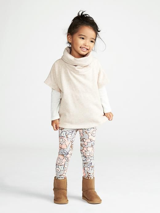 Old Navy Printed Leggings Little Girls Outfit