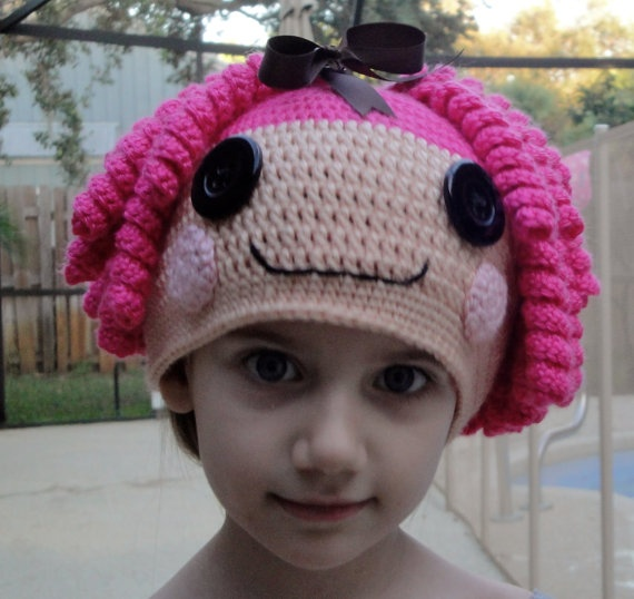 Free Crochet Pattern For Lalaloopsy Hat : 341 best images about Crochet hat ideas on Pinterest