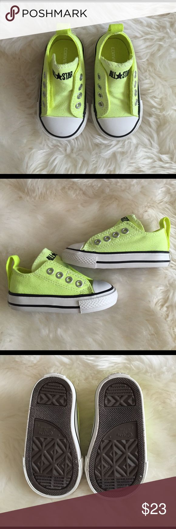 Converse baby/infant, 4 unisex neon converse shoes Brand new in box. Converse Shoes Baby & Walker