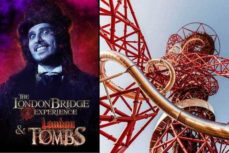 Get Discount Tourist Attractions 2017 - London Bridge Experience, London Tombs & ArcelorMittal Orbit Tkt for just: £17.00 London Bridge Experience, London Tombs & ArcelorMittal Orbit Tkt BUY NOW for just £17.00