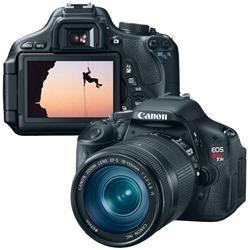 Câmera Digital Canon T3i EF-S 18-135, 18MP, Preta, LCD 3.0 , Estabilizador de Imagem, Gravação de Áudio em Alta Definição e Bateria Recarregável