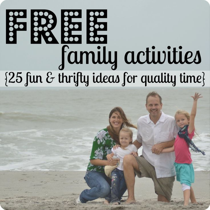 FREE family activities--25 fun  thrifty ideas for spending quality time with your kids   #31days of living well  spending zero  #fun #family #activities