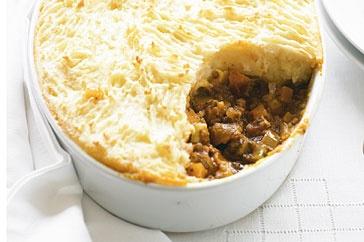 lentil and vegetable cottage pieVegetarian Cottages, Shepherd Pies, Lentils Vegetables, Vegetarian Recipe, Pies Vegetarian, Vegetarian Meals, Cottages Pies, Vegetables Cottages, Lentils Cottages