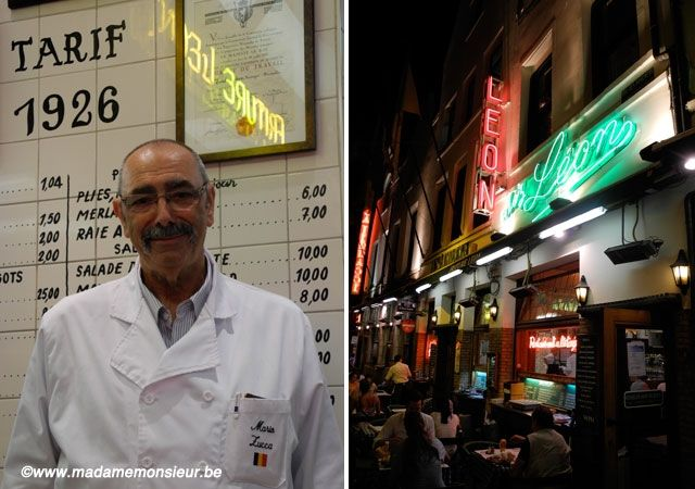 moules,frites,spécialité belge,léon,bruxelles,touristique,institution,tradition,belgitude