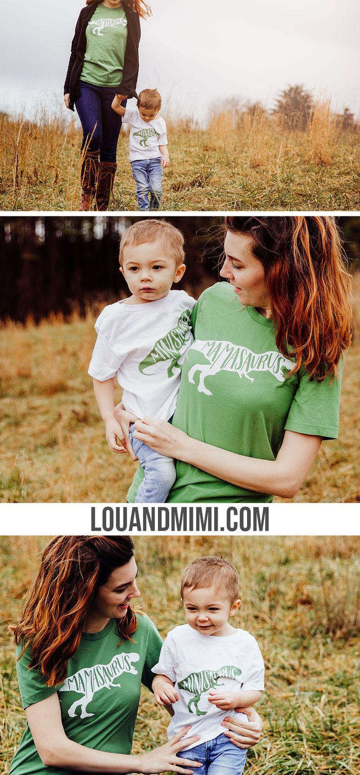 2992a52024 Mamasaurus and Minisaurus Rex matching mom and son t-shirts!! Ok these are  too cute! What a fun mommy and boy outfit idea. They d be so cute for a boy  mom ...