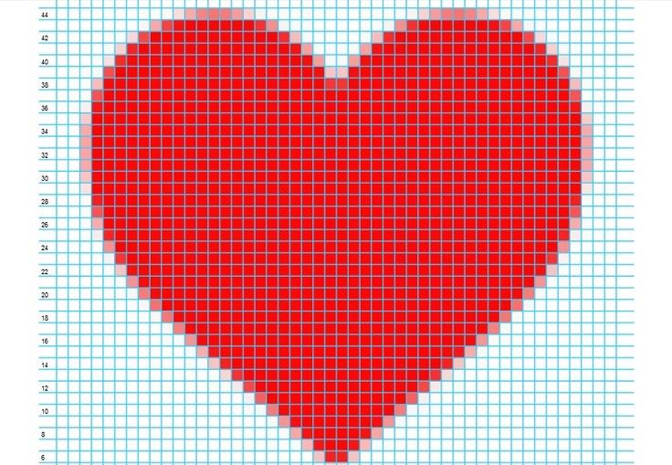 8 Best Graphs For Crochet Images On Pinterest