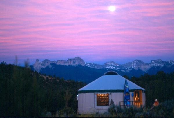 I wanna yurt.