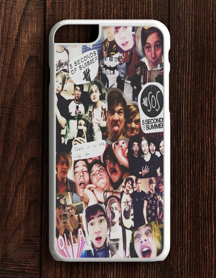 5 Second Of Summer Collage Art 5 SOS Music iPhone 6 Plus | 6S Plus Case