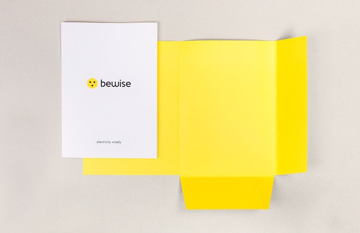 Bewise - Corporate folder   by Skinn Branding Agency